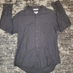 APT 9  Mens Button Down Dress Shirt EUC